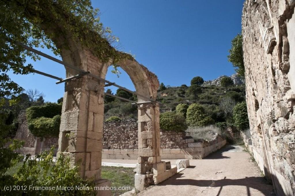 El Priorato Patio del Patriarca Siglo XIV Tarragona
