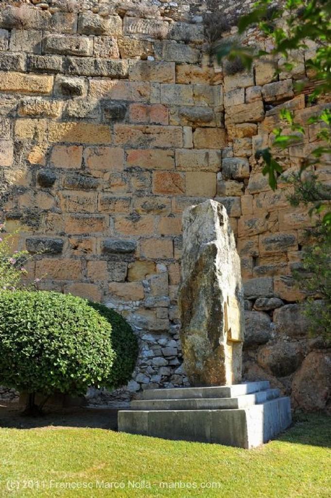 Tarragona Columna Romana de Marmol Tarragona