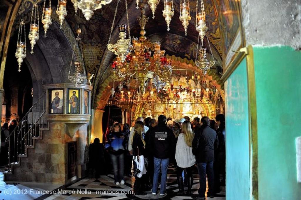 Jerusalen Donde Elevaron la Cruz  Golgota Judea
