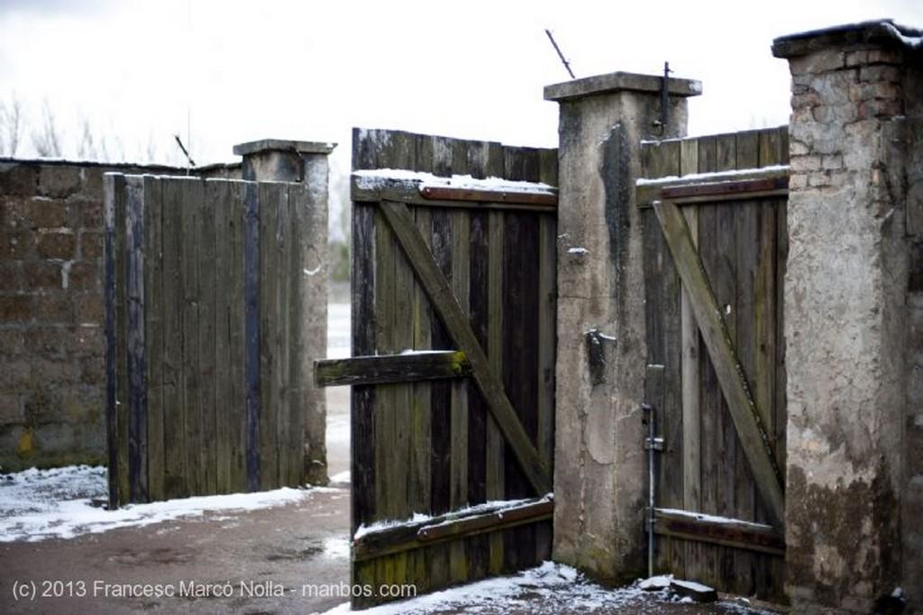 Oranienburg  Puerta Entrada  Celdas Aisladas Berlin