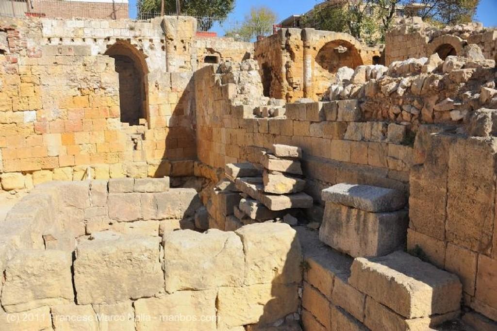 Tarragona Excavaciones Anfiteatro Tarragona