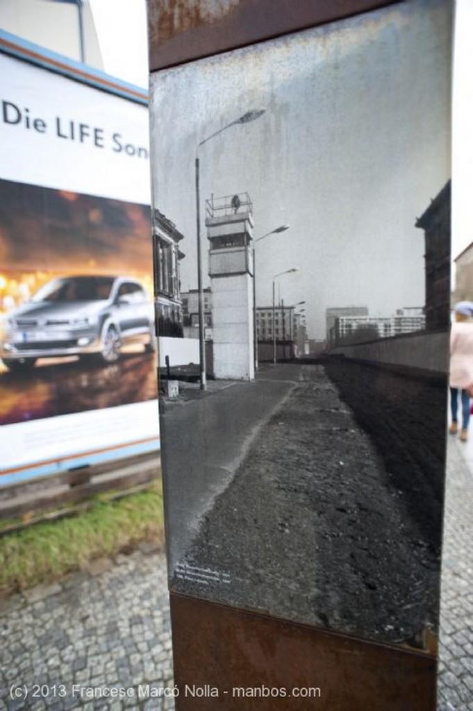 Berlin Memorial del Muro Berlin