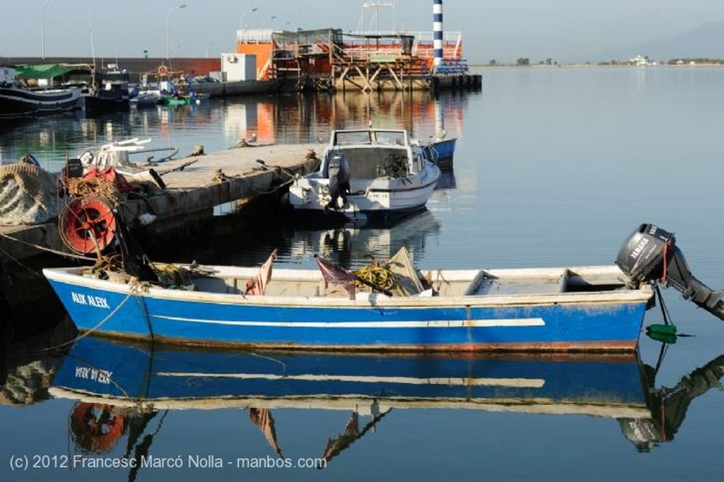 El Delta del Ebro Amanecer en la Bahia del Fangar Tarragona