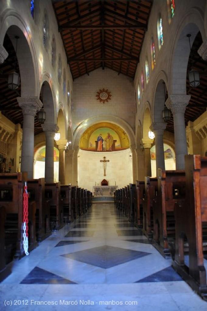 Nazaret Fachada  Iglesia Galilea