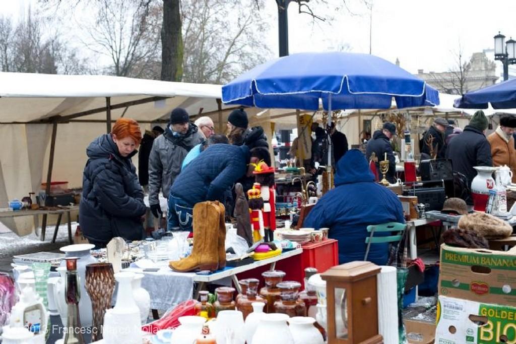 Berlin Mercadillo de Trodelmarkt Berlin