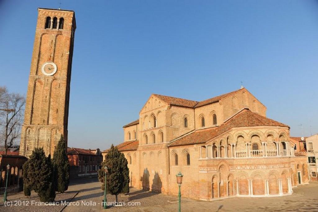 Murano  Fachada Iglesia de Santa Maria e Donato Venecia