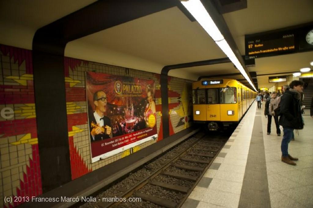 Berlin Estacion de Wilmersdorfer Berlin