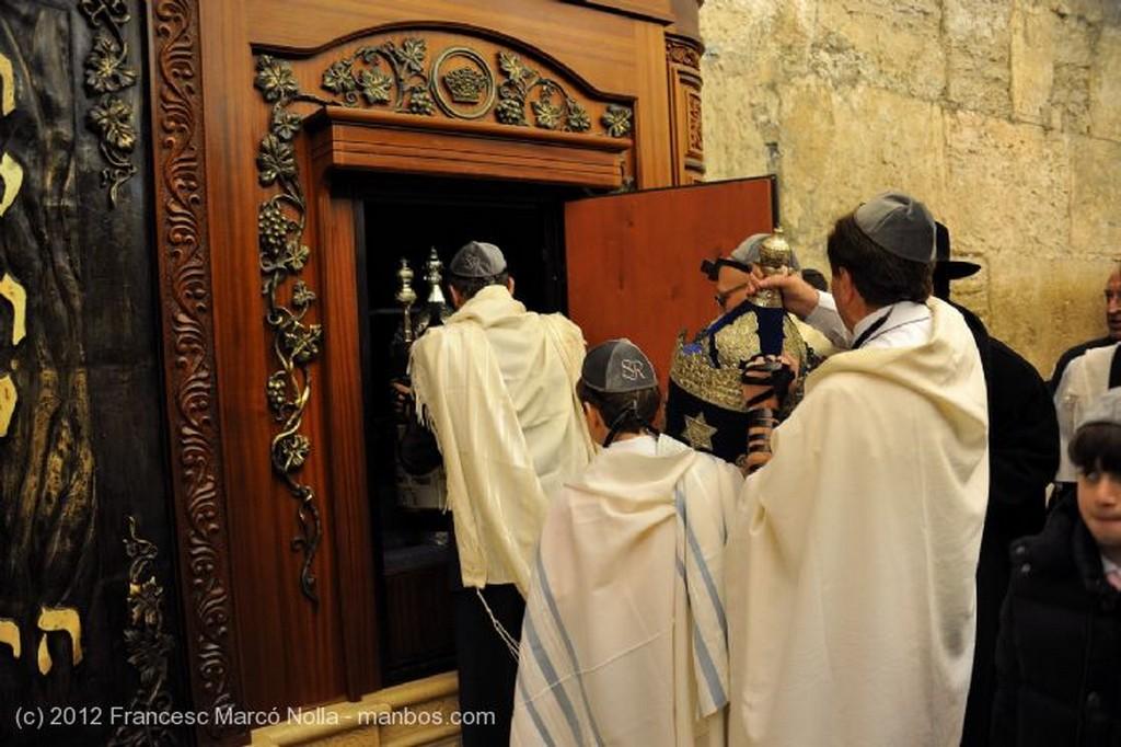 Jerusalen Leyendo La Torah Judea