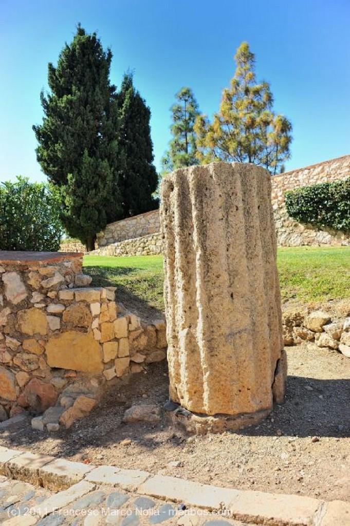 Tarragona Monolito Romano Tarragona