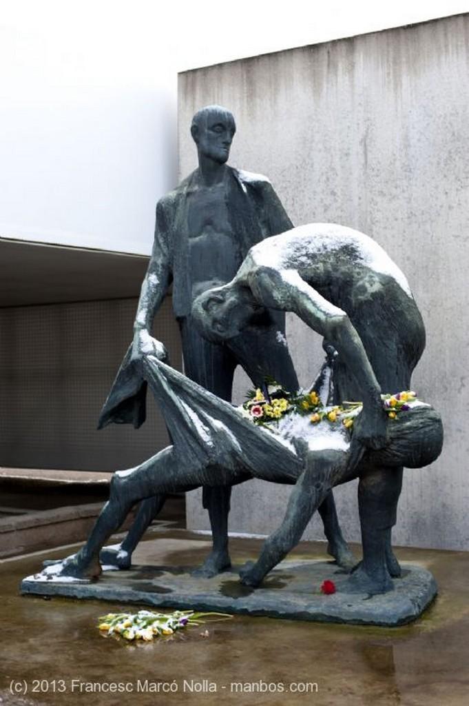 Oranienburg Paredon de Fusilamiento Berlin