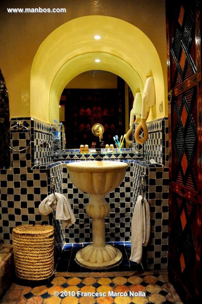 Marruecos  riad la medina-marrakech Marruecos