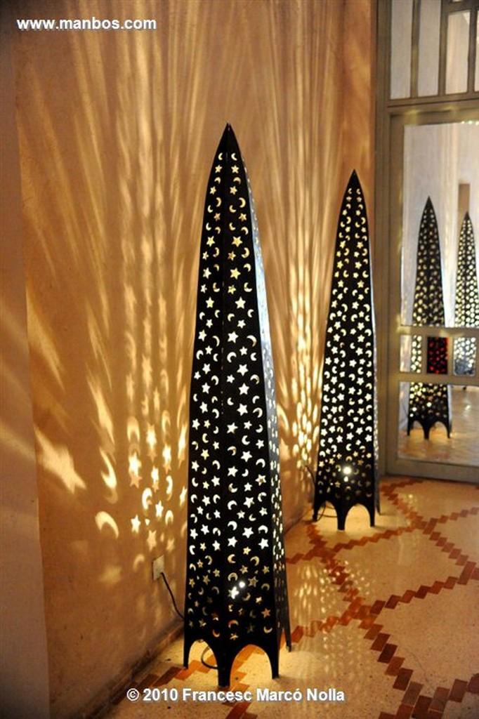 Marruecos  lampara arabesca-la palmeaie-marrakech Marruecos