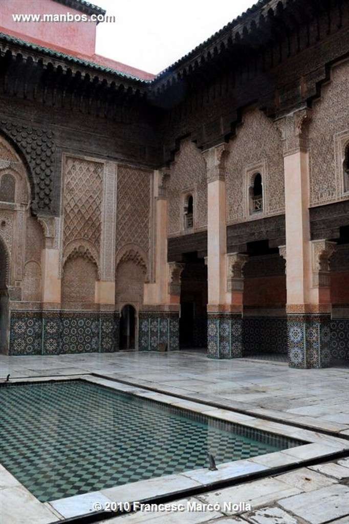 Marruecos  madrasa ben youssef-marrakech Marruecos