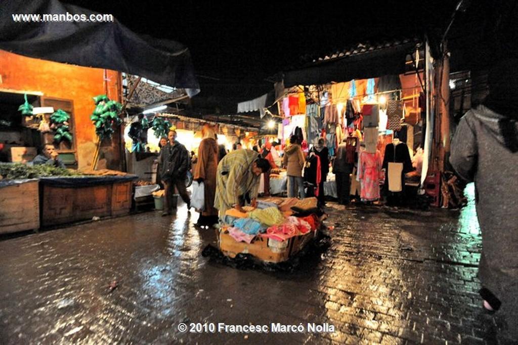 Marruecos  tiendas del zoco-marrakech Marruecos