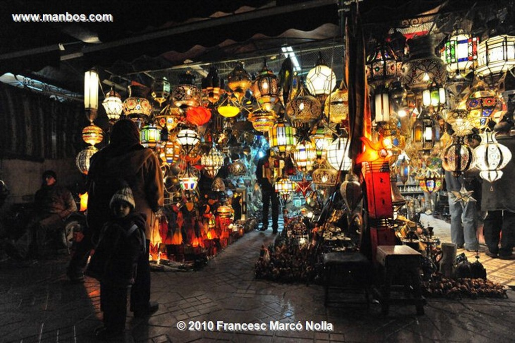 Marruecos  restaurantes nocturnos-marrakech Marruecos