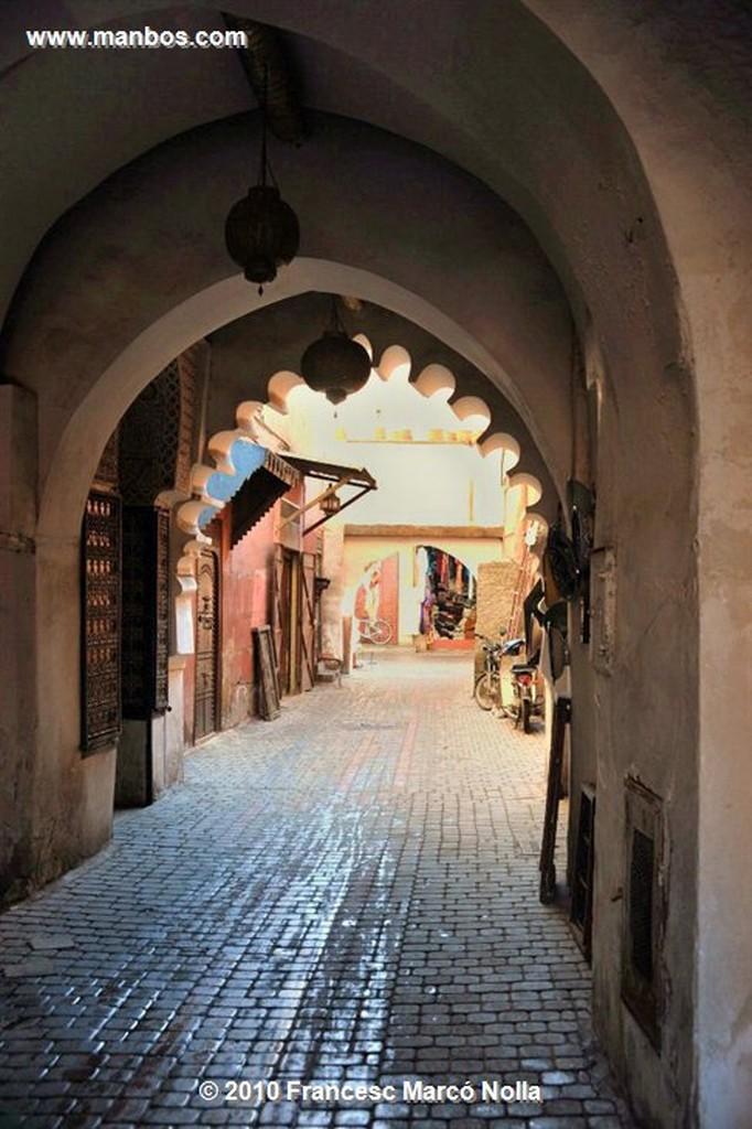 Marruecos  el zoco-marrakech Marruecos