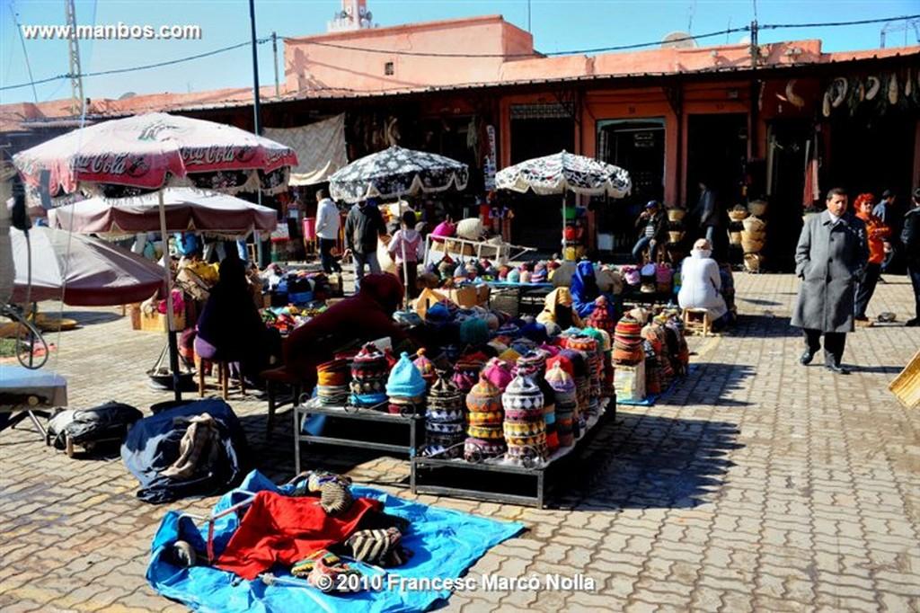 Marruecos  desde el tejado-marrakech Marruecos