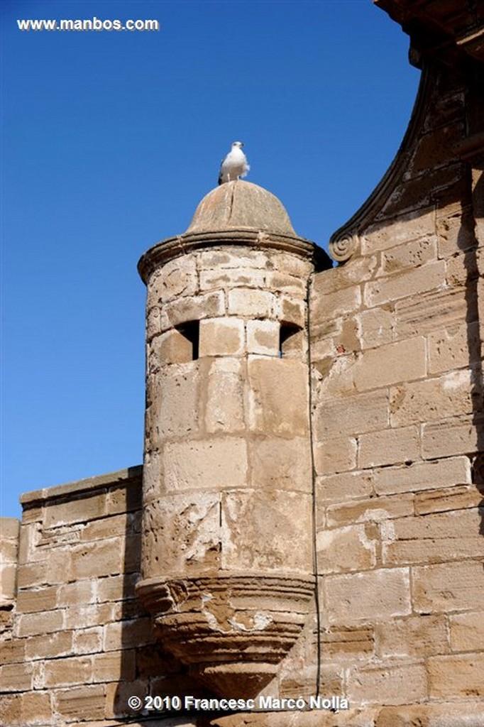 Marruecos  panoramica de la ciudad antigua-esaouira Marruecos