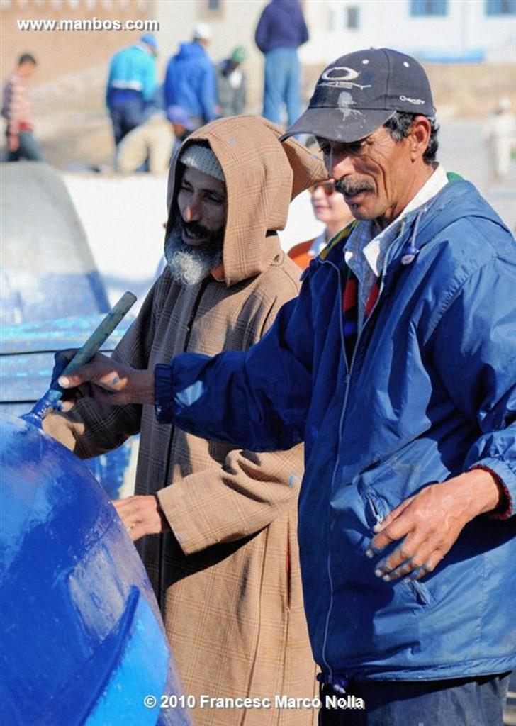 Marruecos  calles antiguas-esaouira Marruecos