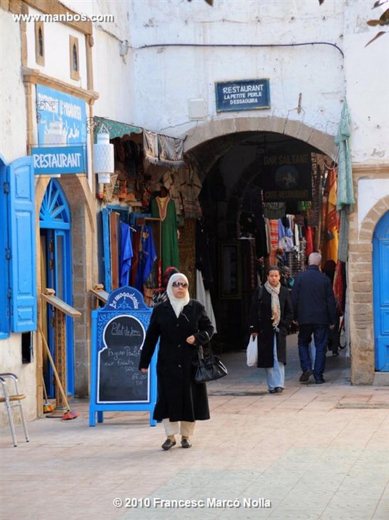 Marruecos  antigua calle porchada- esaouira Marruecos