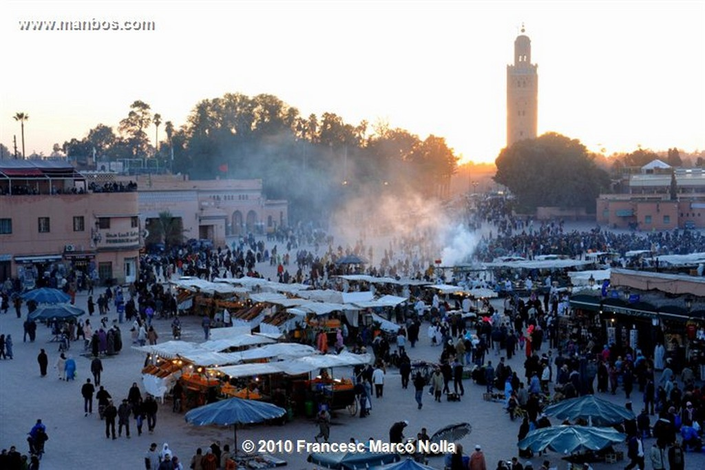 Marruecos  marrakech -  plaza jama el fna Marruecos