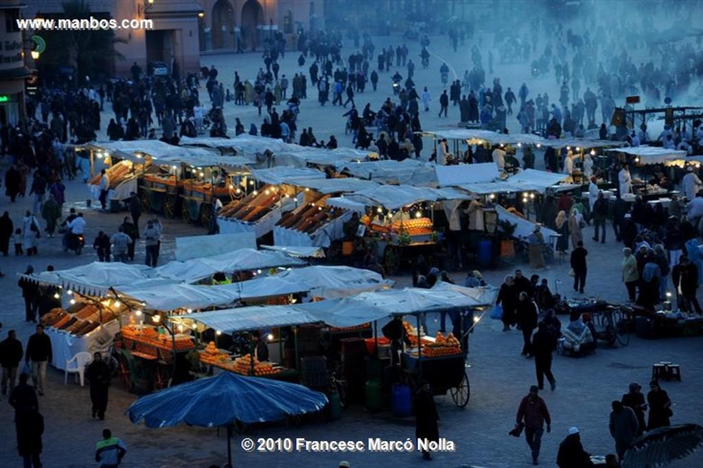 Marruecos  Marrakech- Plaza Jama el fna Marruecos