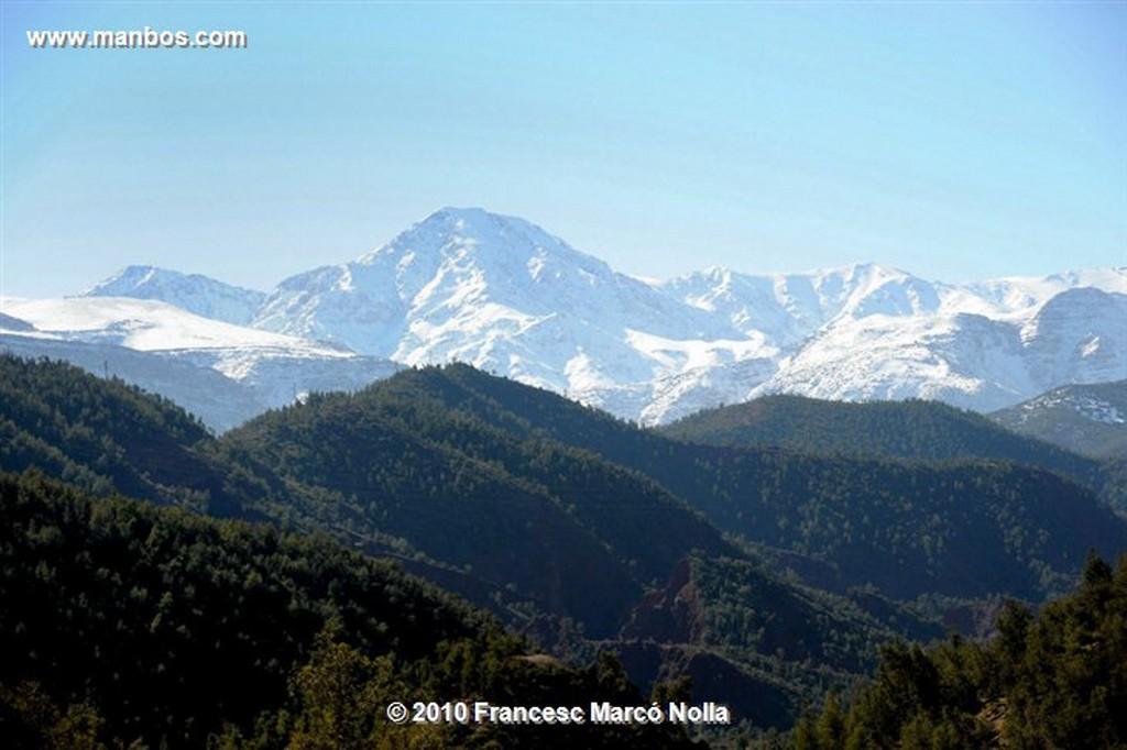 Marruecos  Cordillera del Atlas Marruecos