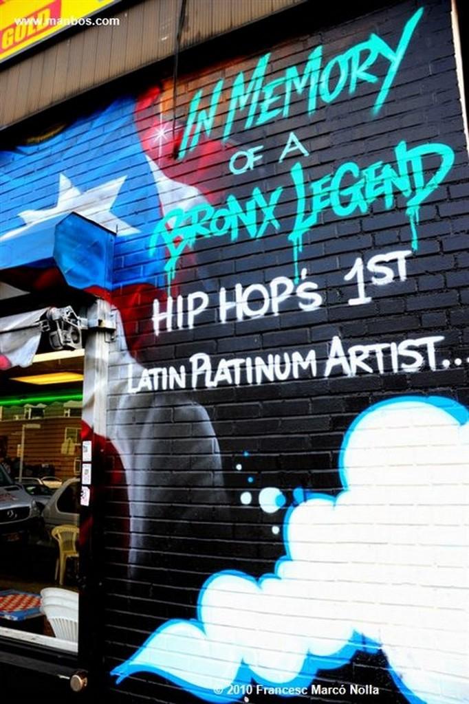 Nueva York Graffiti - El Bronx Nueva York
