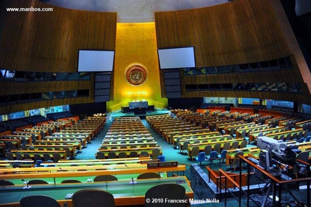 Nueva York Edificio de la ONU Nueva York