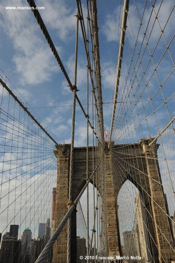 Nueva York Brooklyn Bridge Nueva York