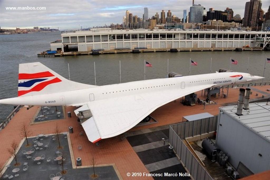Nueva York Portaaviones Intrepid Nueva York