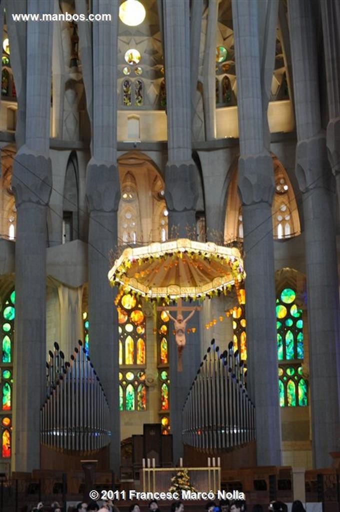 Barcelona  Basilica de la Sagrada Familia Barcelona