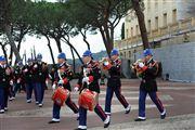 Relevo de La Guardia de Palacio , Monaco , Monaco