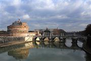 Rio Tebere , Roma , Italia