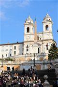 Foto de Roma , Italia - Iglesia Trinita Dei Monti
