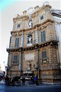 Quatro Canti , Palermo , Italia