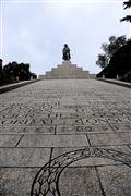 Monumento Napoleon Bonaparte , Corcega , Francia