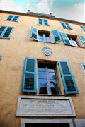 Casa de Napoleon , Corcega , Francia