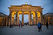 Puerta de Brandemburgo, Berlin, Alemania