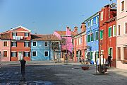 Las Casas Coloreadas, Burano, Italia