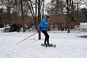 Foto de Berlin, Tiergarten, Alemania - Esquiando en la Tiergarten
