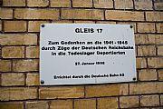 Foto de Berlin, Estacion de Grunevald, Alemania -  Memorial Anden 17