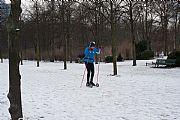 Foto de Berlin, Tiergarten, Alemania - Esquiando en Tiergarten