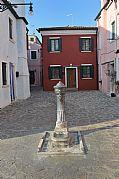Plazoleta de Burano, Burano, Italia