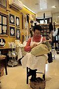 Tienda de Encajes, Burano, Italia