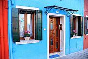 Las Casas Coloreadas, Burano, Italia