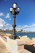 Puerto de Bari, Bari, Italia