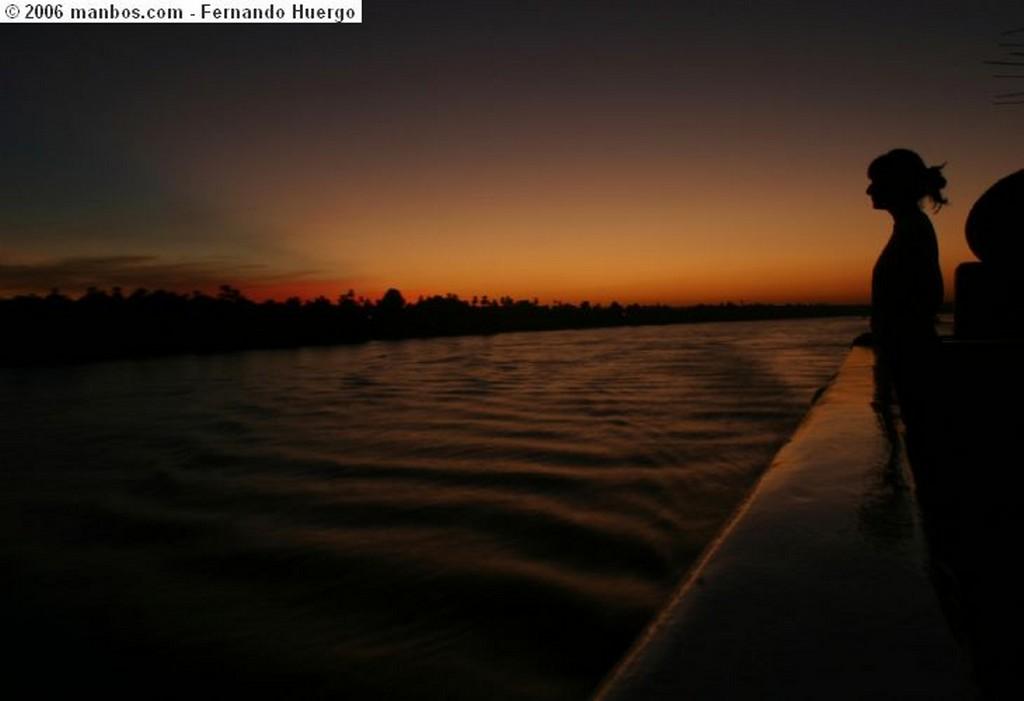 Foto de Rio Nilo, Egipto - Atardecer en el Nilo