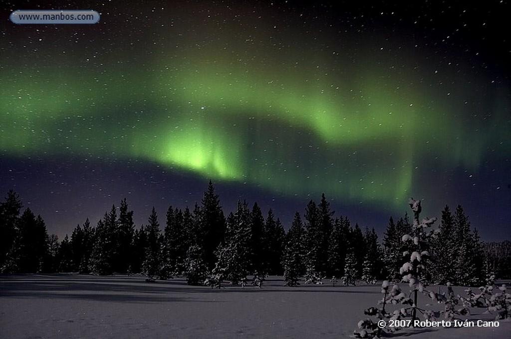 Aurora boreal Aurora boreal Laponia