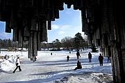 Foto de Helsinki, Monumento a Sibelius, Finlandia - Monumento a Sibelius
